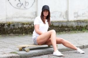 Longboard Mädchen